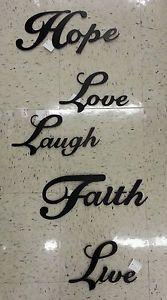 Details About Live Laugh Love Retro Signs Home Pub Wall