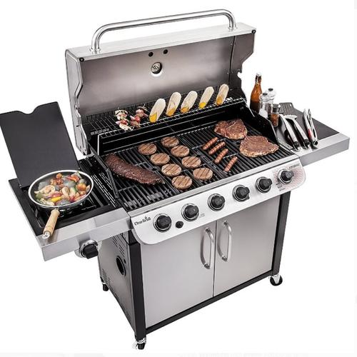 Char Broil 650 Sq In Infrared 6 Burner Gas Grill In 2020 With