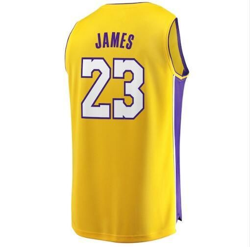 b73785c426b02 New 2018 Los Angeles Lakers #23 Lebron James Basketball Team Jersey ...