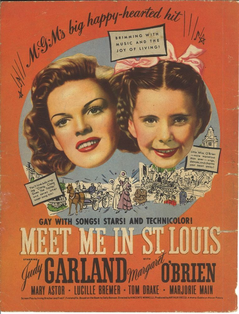 Meet me in st louis 1944 judy garland margaret o