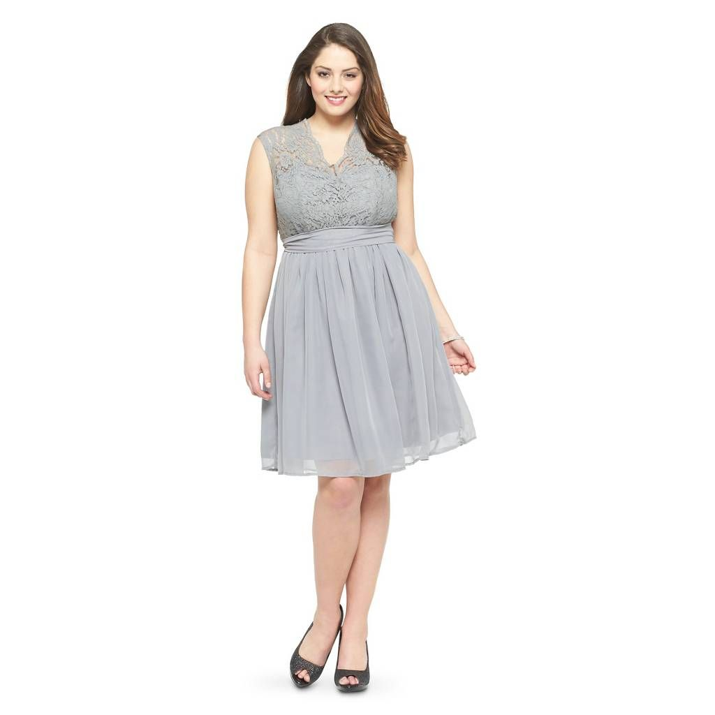 815e3c4f73 Women s Scalloped Lace V-Neck with Back Cutout Bridesmaid - TEVOLIO™. Image  3 of 4.