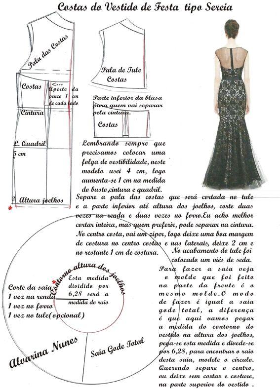 Pin de marta licia en Blusas | Pinterest | Molde, Costura y Patrones
