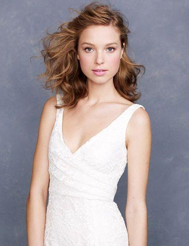 9ed0ab9346  Sara Lace Gown by J. Crew  Friend Wedding