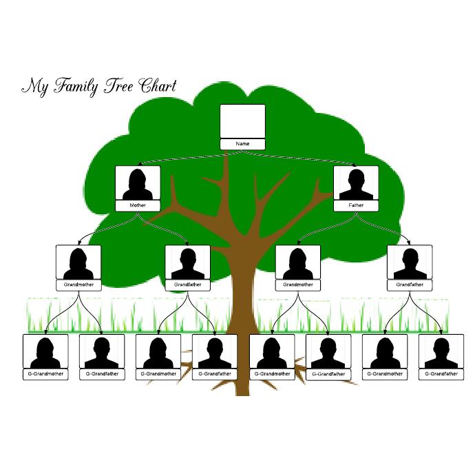 Family Tree Templates  Family Tree Template    Family