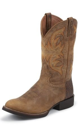 Justin Boots Stampede Cattlemen Horse Boots Boots