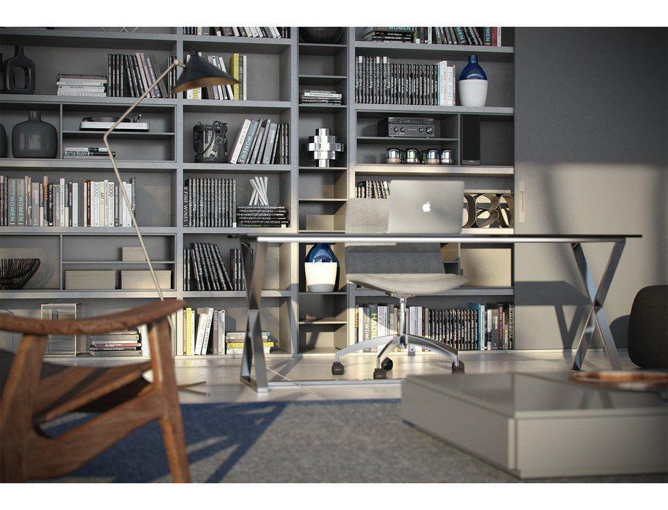 Muebles y complementos para home office de todeschini for Muebles de oficina en casa