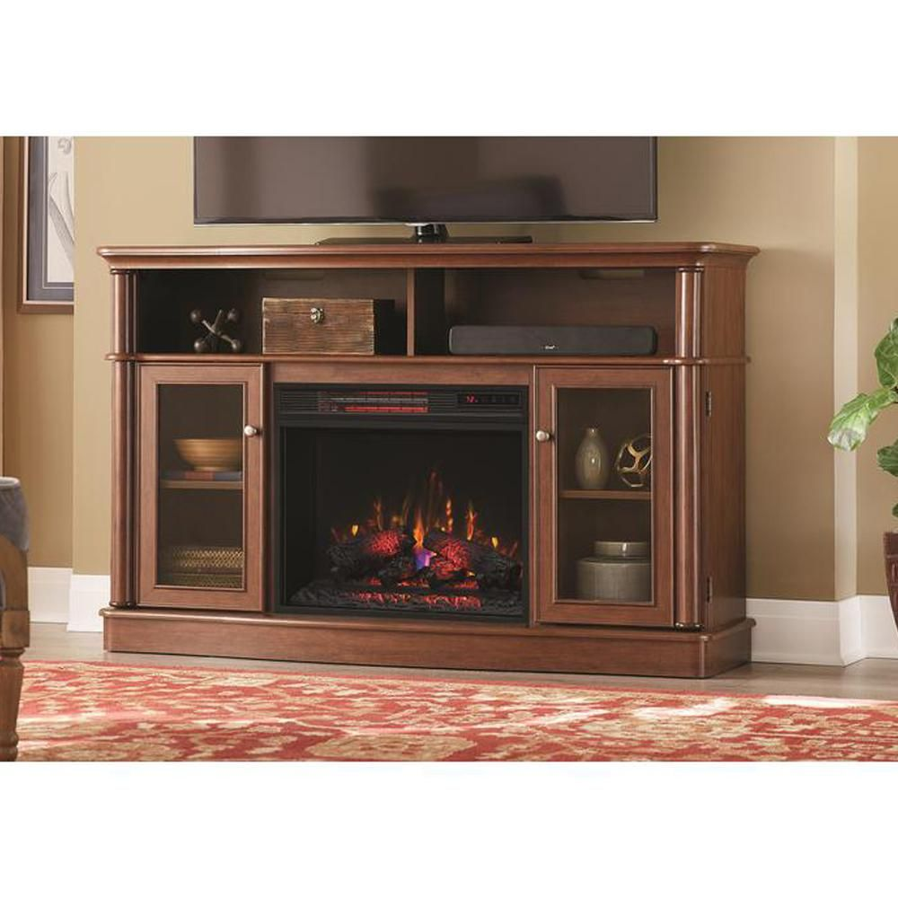 19 Good Tv Stand Infrared Bow Front Electric Fireplace For The