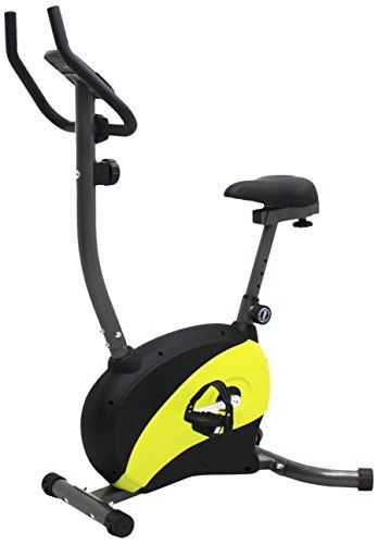 Iliving Magnetic Upright Bike Adjustable Seat Yellow Review With