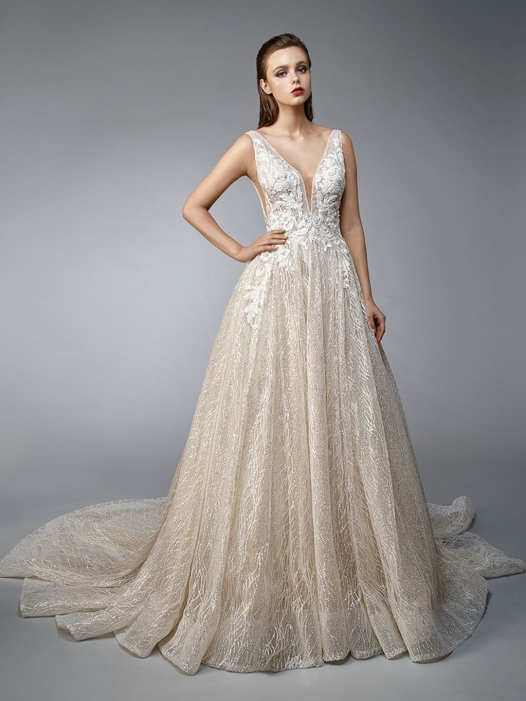 79235cdc2d Nellie by ENZOANI-available at Uptown Bridal