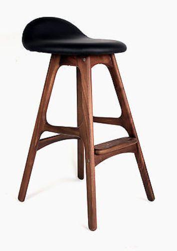 Eric Buck Style Midcentury Modern Style Stool Counter Height Mid Century Bar Stools Bar Stools Modern Bar Stools