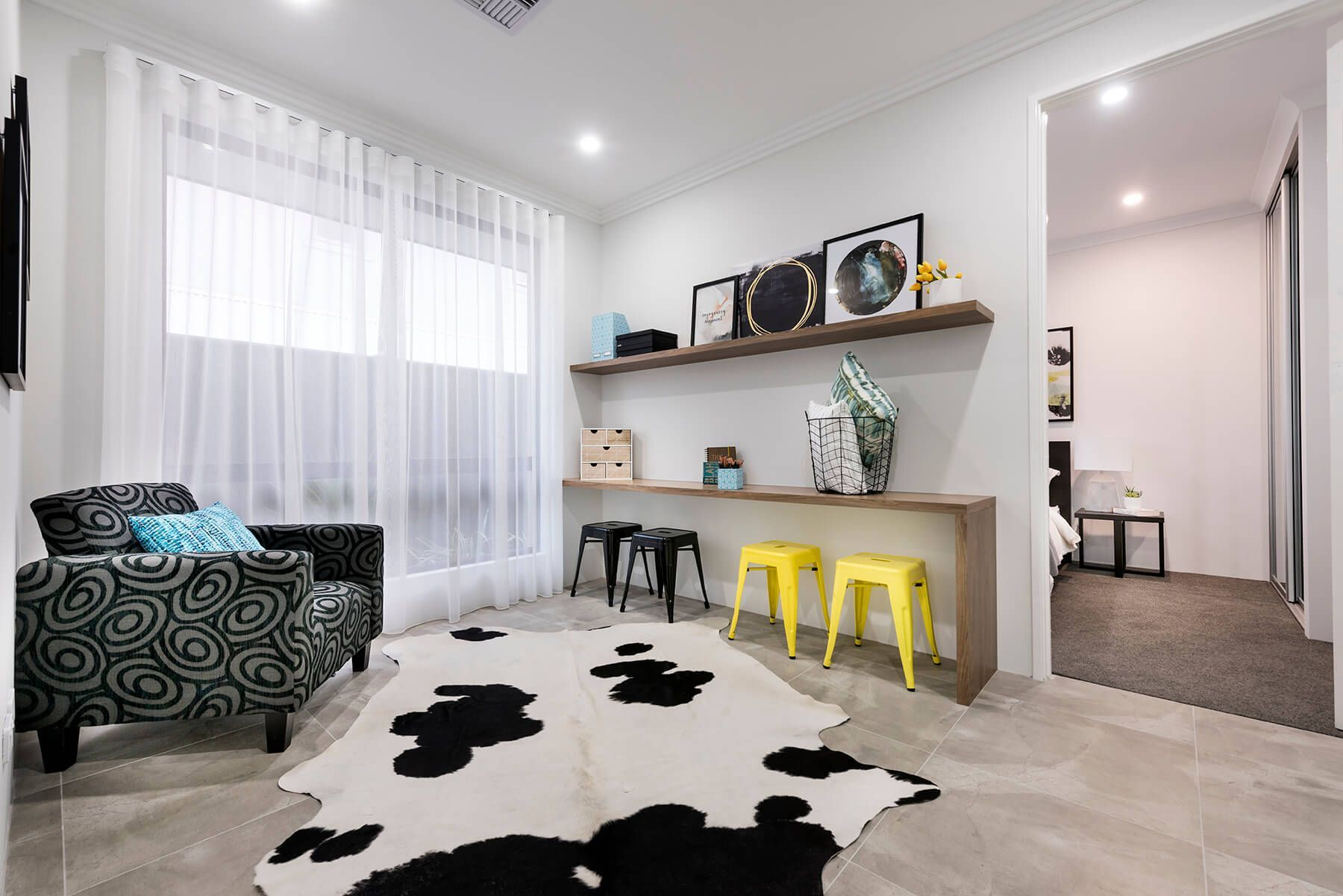At our Rise display home in Jindalee, the kids get their own central ...