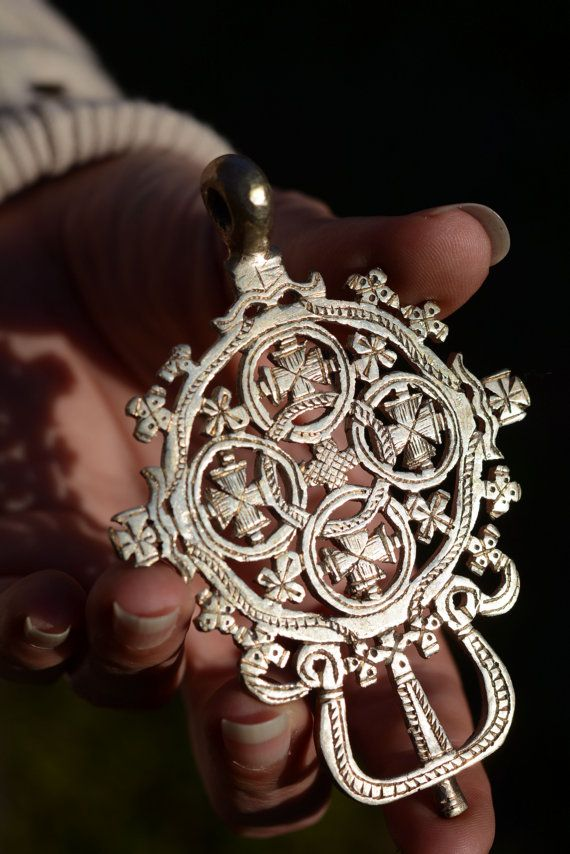 Welcome to our store Beautiful Big Ethiopian cross Pendant Perfect
