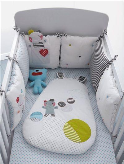tour de lit Vert Baudet 30cm de hauteur = pour berceau !!! | DIY ...