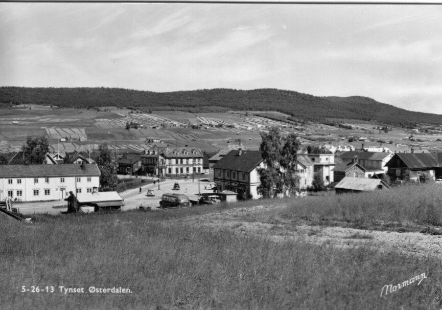 Hedmark fylke Østerdalen Tynset kommune 1950-tallet utg Normann