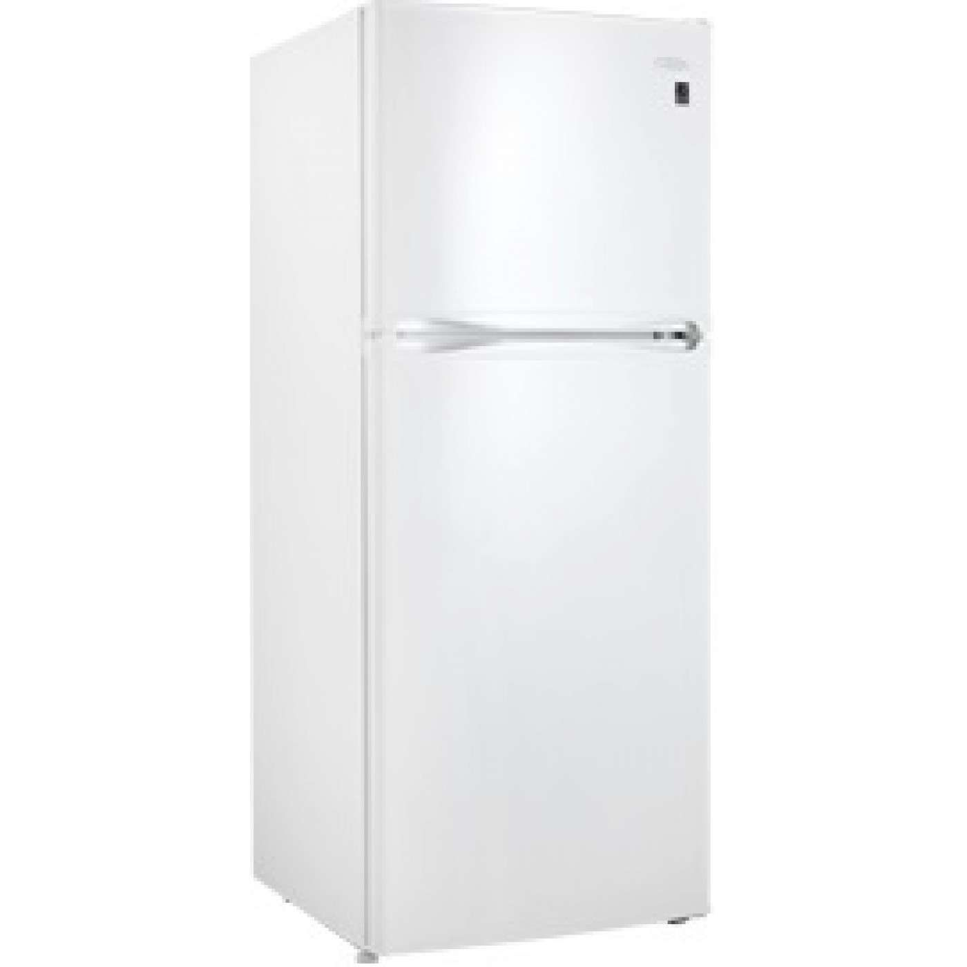 10 0 Cu Ft White Top Freezer Refrigerator