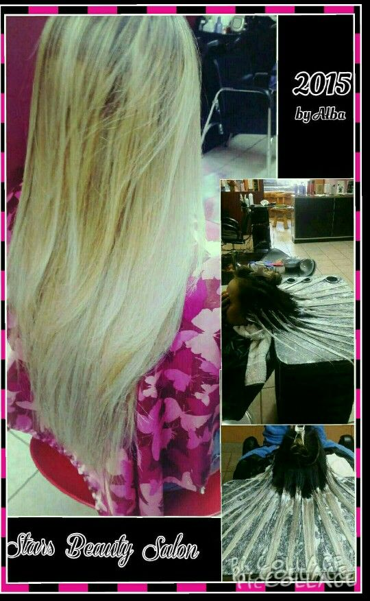 In l♡ve with Hair!!!  At Stars Beauty Salon By Alba