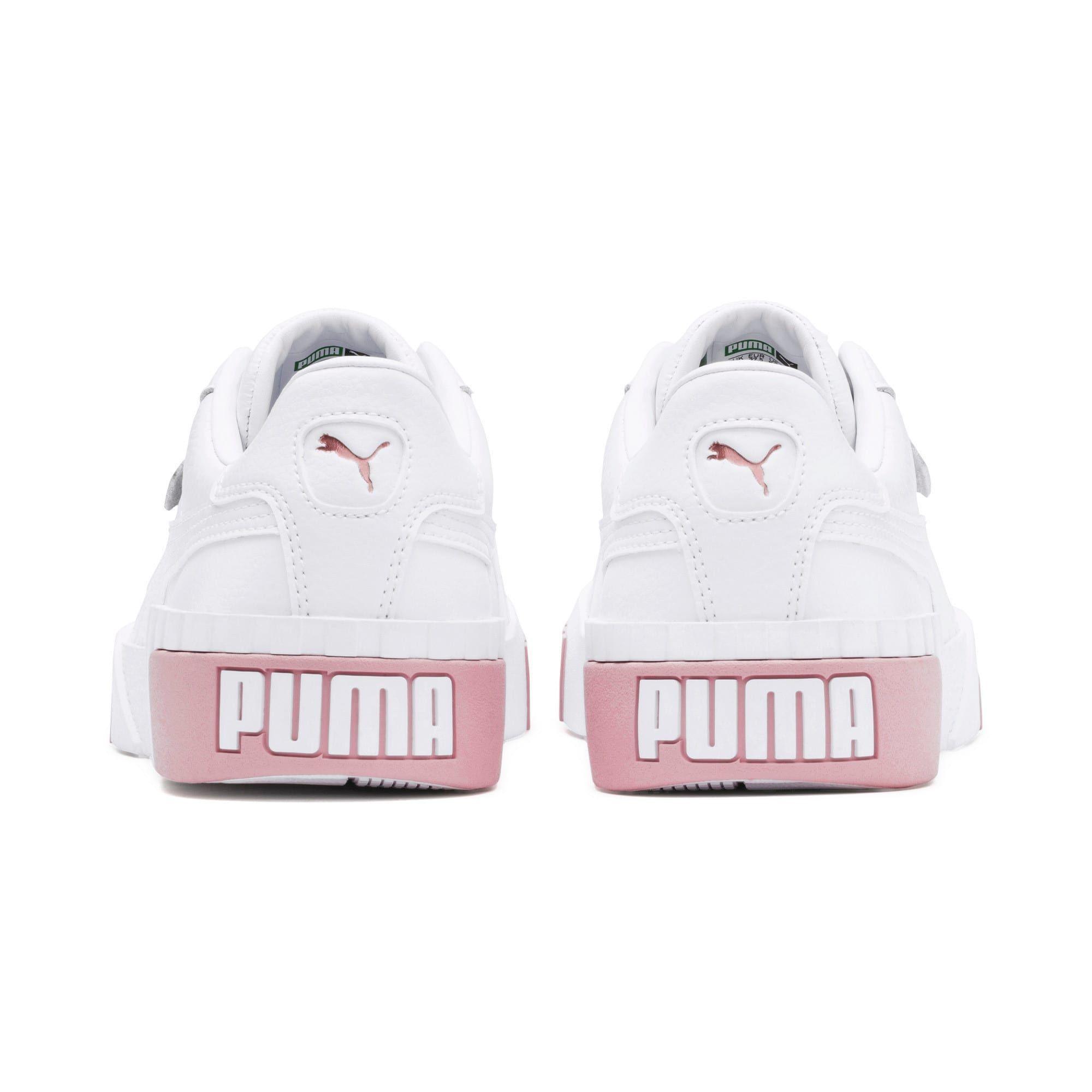 puma cali rose gold trainers