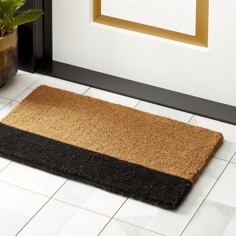 Ryder Jute Doormat Reviews Cb2 Modern Doormats Jute Doormat Door Mat