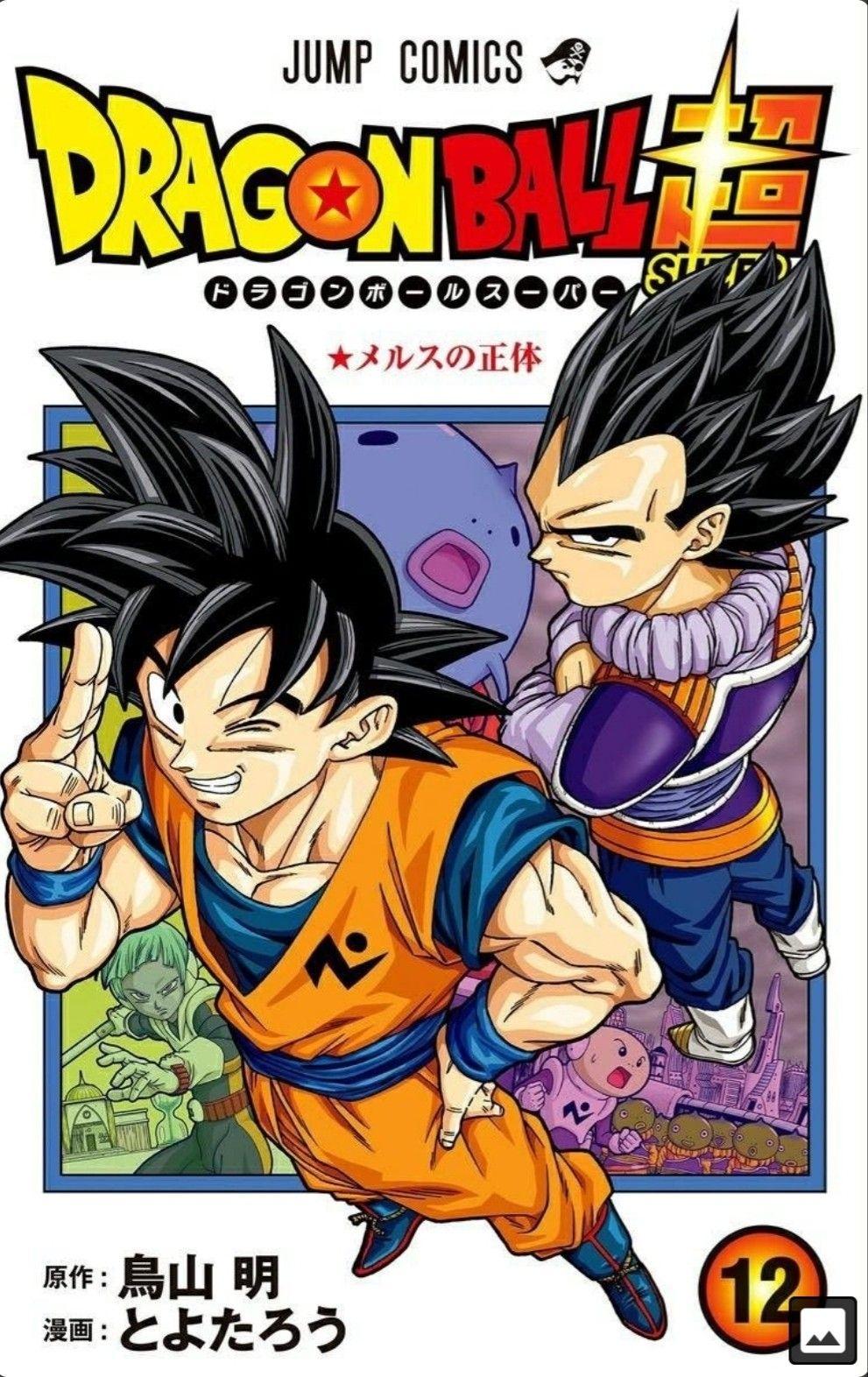 dragon ball super manga vol 12 cover dragon ball super manga anime dragon ball super dragon ball super goku