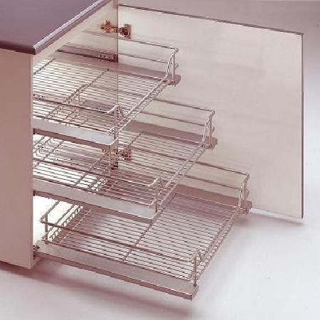 PULL OUT WIRE BASKETS FOR KITCHEN CUPBOARDS | Kitchen ...