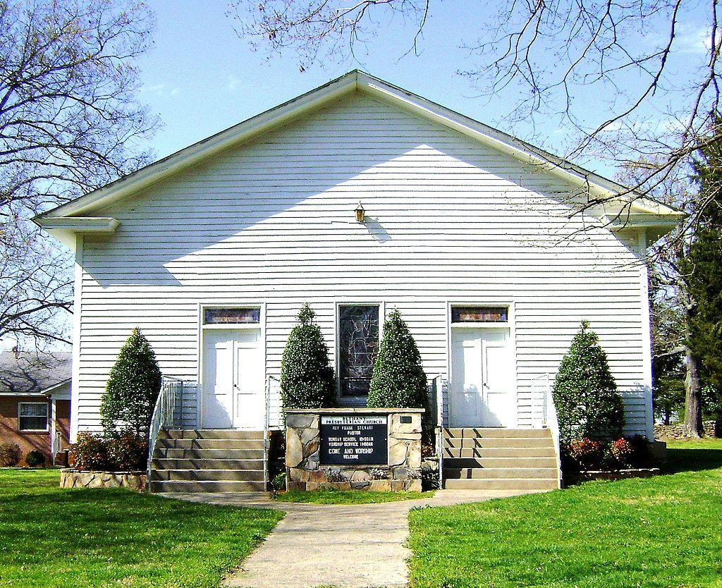 Ebenezer Academy, Bethany Presbyterian Church and Cemetery in Iredell County, North Carolina.