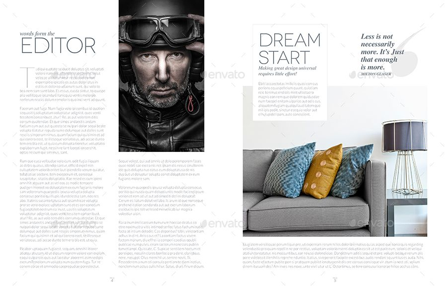 Magazine Template Indesign 24 Page Layout V13 Magazine