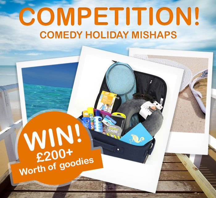 **COMPETITION** Win £200+ worth of goodies (including a £100 Thompson giftcard) --- Now that holiday season is over, we are sure you have plenty of funny stories to tell about your comedy holiday mishaps. Tell us your story of something funny that has happened whilst on holiday for the chance to win. Full details + terms and conditions here: http://bit.ly/2bTdUho