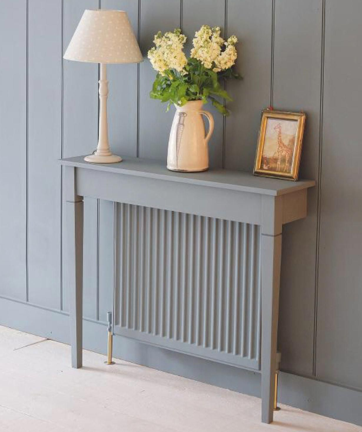 Radiator table good idea for narrow hallway?