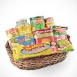 Sunshine Spaghetti 450g Ques-O Cheese 200g Filtaste Coconut gel Nata De Coco 340g Del Monte Fruit Cocktail 420g CDO Karne Norte Guisado 150g Swift Vienna Sausage 70g Del Monte Spaghetti Sauce Italian Style 250g Chef's Choice Pork Luncheon Meat 340g   You can send your inquiry:  Email us: info@regalomanila.com Contact us: +63-02-414-4444 Website: Regalo Manila http://regalomanila.com Facebook: Regalomanila.com fan page