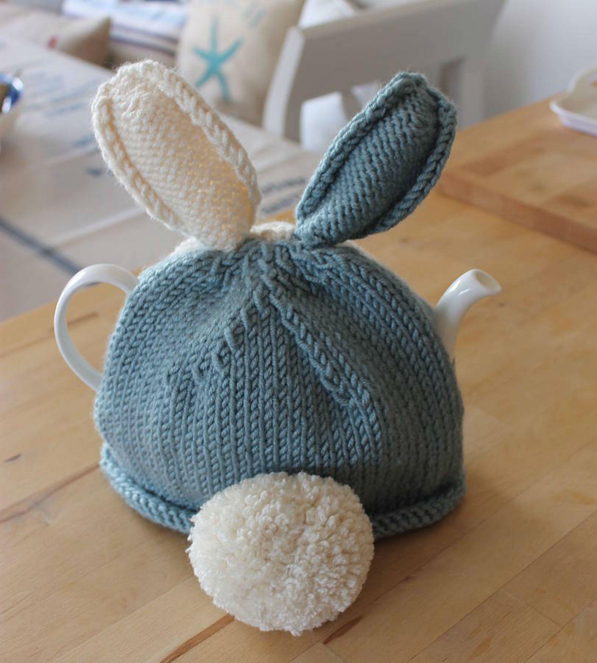 Bunny Rabbit Tea Cosy Knitting Kit   Elişi   Pinterest   Bunny ...
