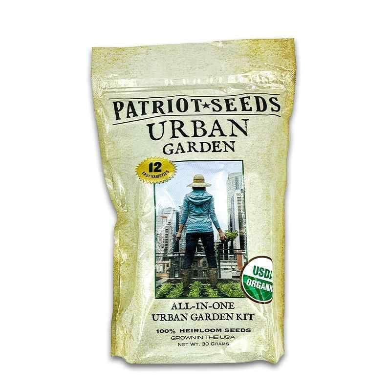 Guaranteed survival urban garden heirloom seeds by