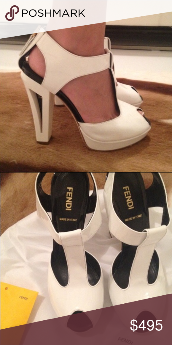 2318c8cbd78c Fendi Vintage Heels Fendi Heels! Vintage yet modern style. Purchased in  Hong Kong at Fendi. 100% authentic. Comes in original Fendi dustbag. Worn  once!