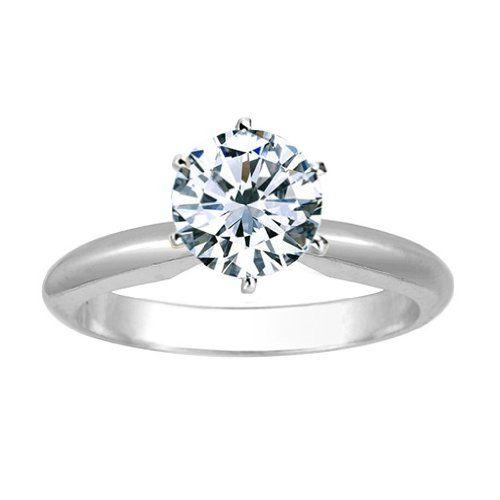 Tiffany style platinum setting on Amazon under $2 000
