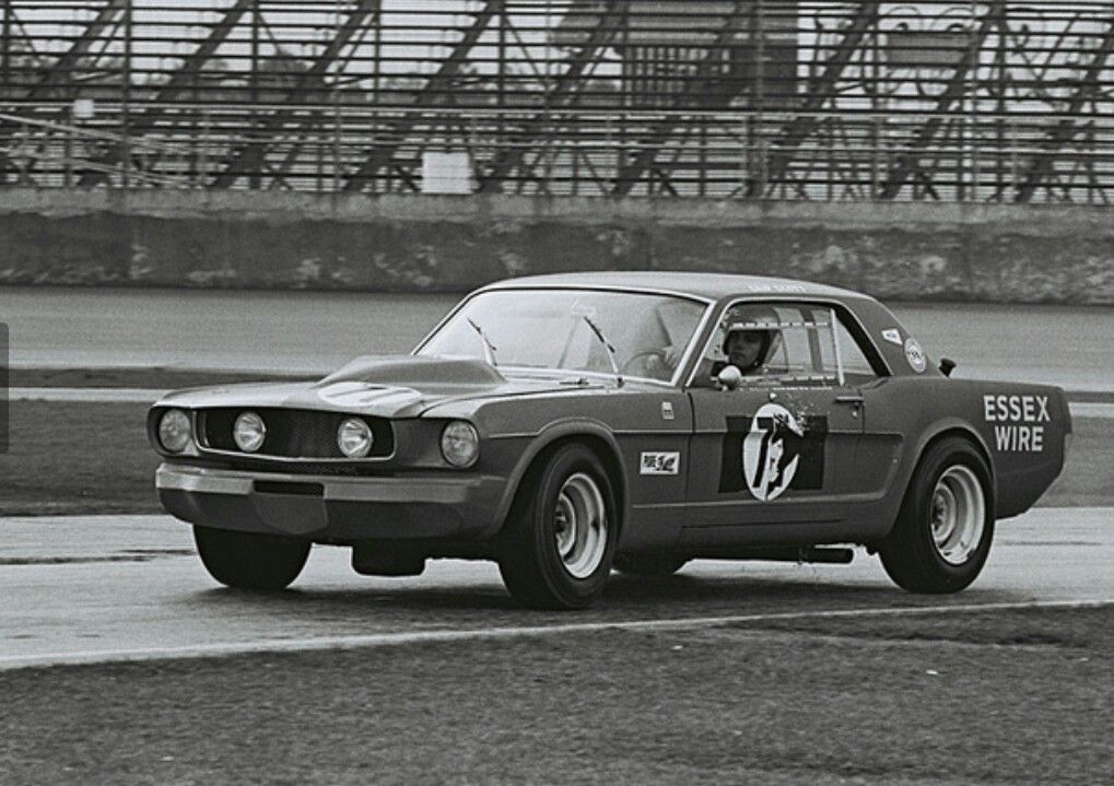 65 Mustang at Daytona