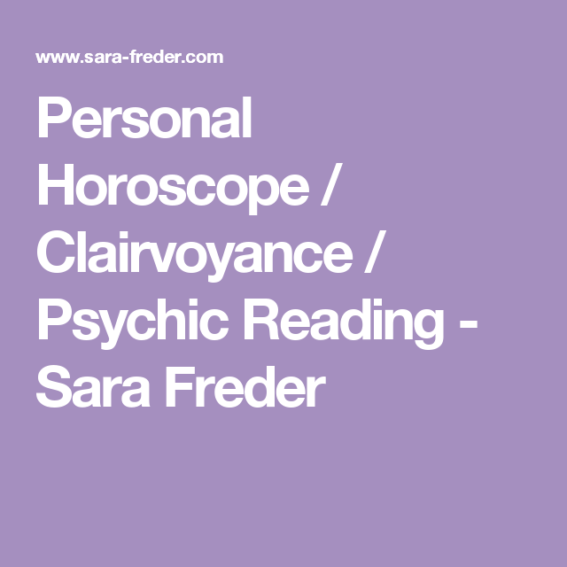 Free Personal Horoscope