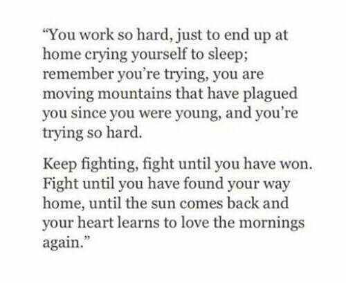 Hold On Fight On And Never Stop Trying To Find Yourself Once Again Love Again Quotes Finding Love Quotes Finding Yourself Quotes