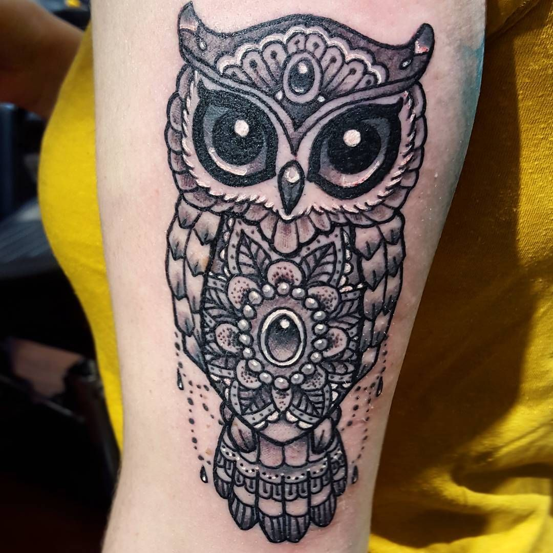Owl Tattoo Black And White Animal Tattoo Design Ideas Inspiration Tattoos Owl Tattoo Trendy Tattoos