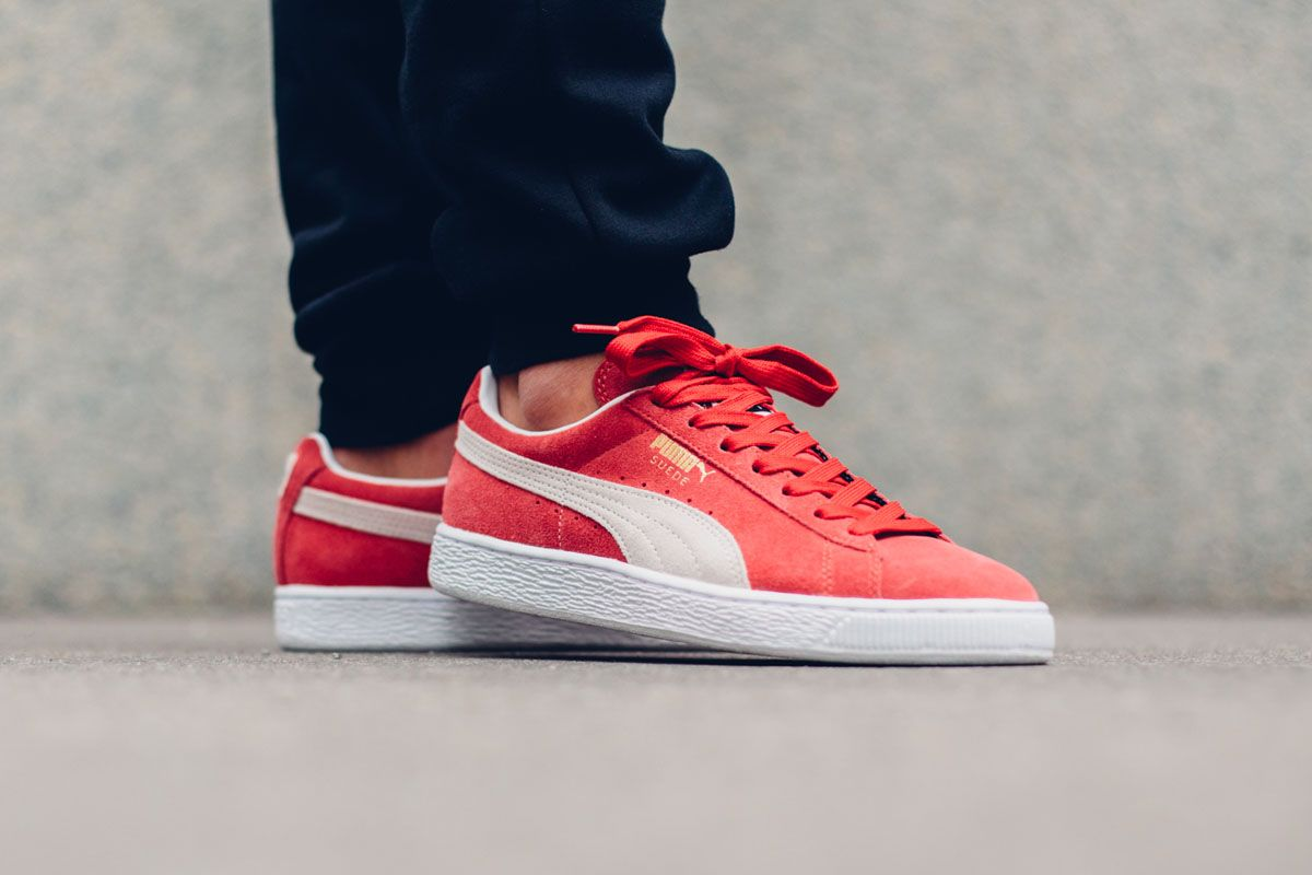 """new concept 9ce57 524ad Puma Suede Classic+ """"Team Regal Red"""" Adidas Shoes Outlet, Puma Suede,  Discount"""