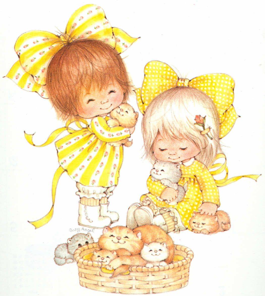 Две сестрички открытка