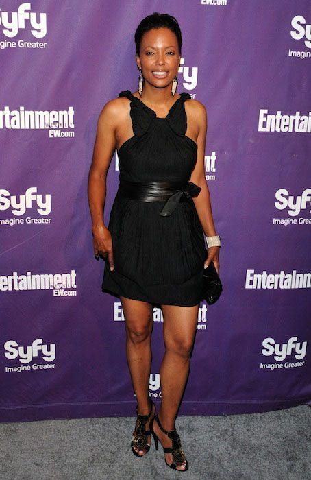 American actress, Aisha Tyler...