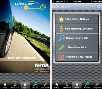 National Highway Traffic Safety administration Safecare