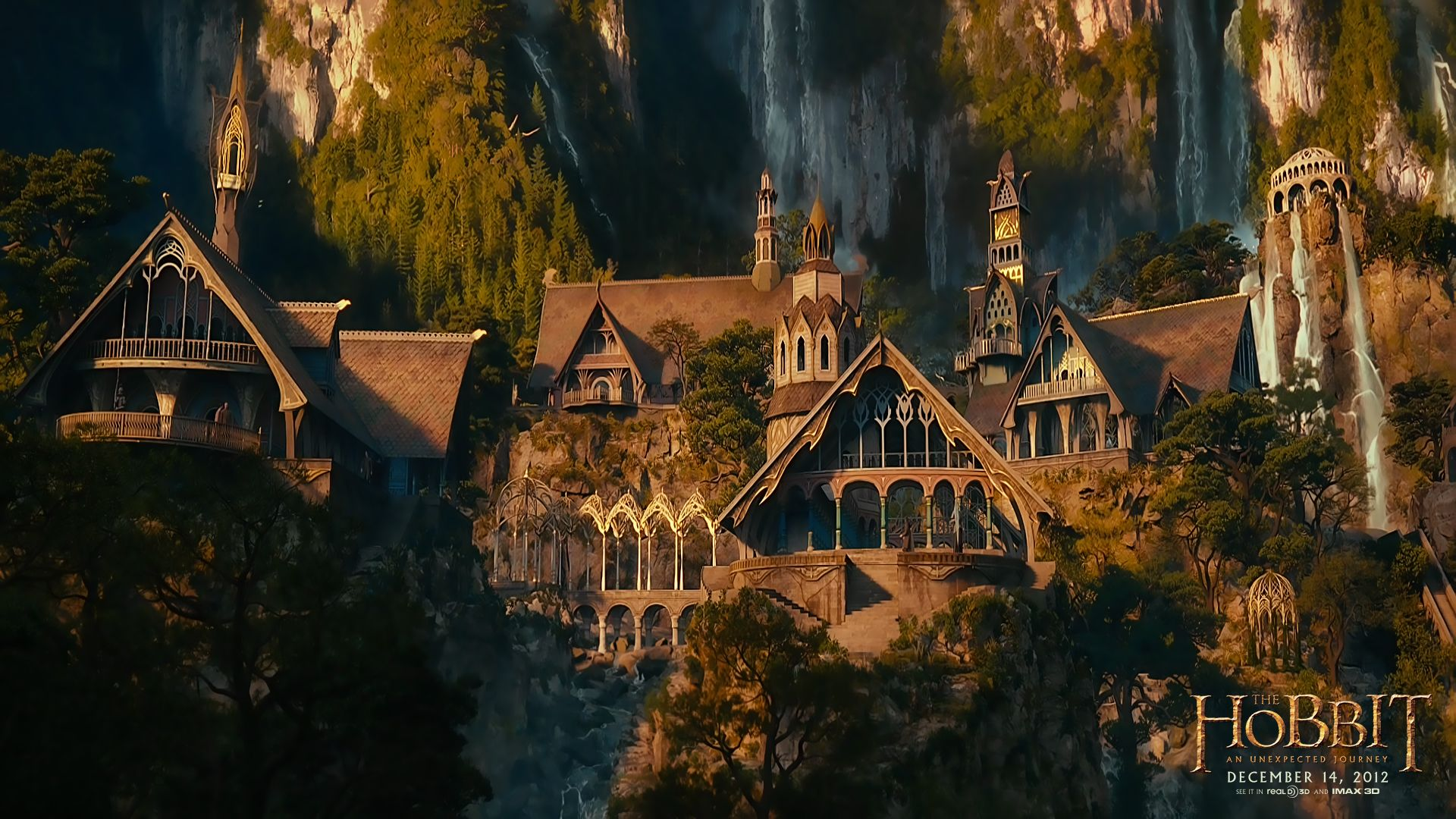 Rivendell wallpaper - The Hobbit: An Unexpected Journey banner ...