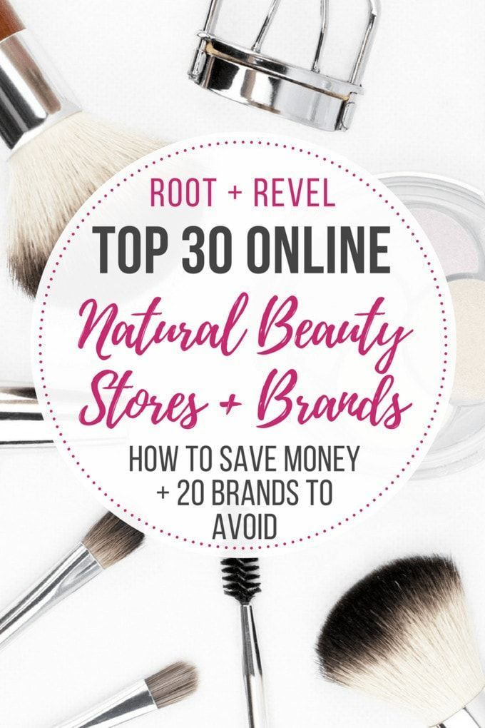 Tossing toxic beauty products for safer healthier and more natural optionsall of which actually workhas never been easier Todays round up features our top 30 favorite nat...