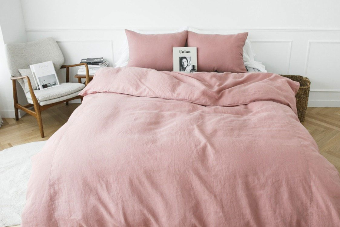 Dusty Rose Color Comforter Rose Bedroom Home Decor Bedroom