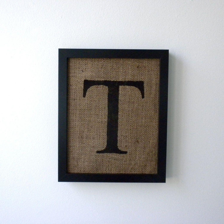 Letter t burlap wall decor alphabet art monogram the letter t burlap wall decor alphabet art monogram amipublicfo Image collections