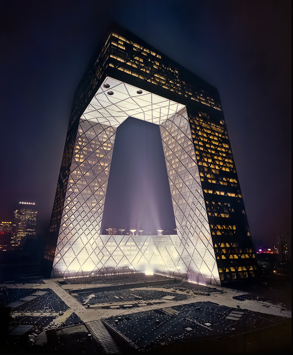 CCTV Building Beijing - OMA by Nathaniel McMahon on Flickr.