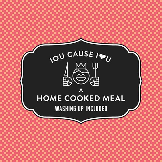 FREE Printable IOU Vouchers for Valentineu0027s Day - Cooked Meal - printable vouchers