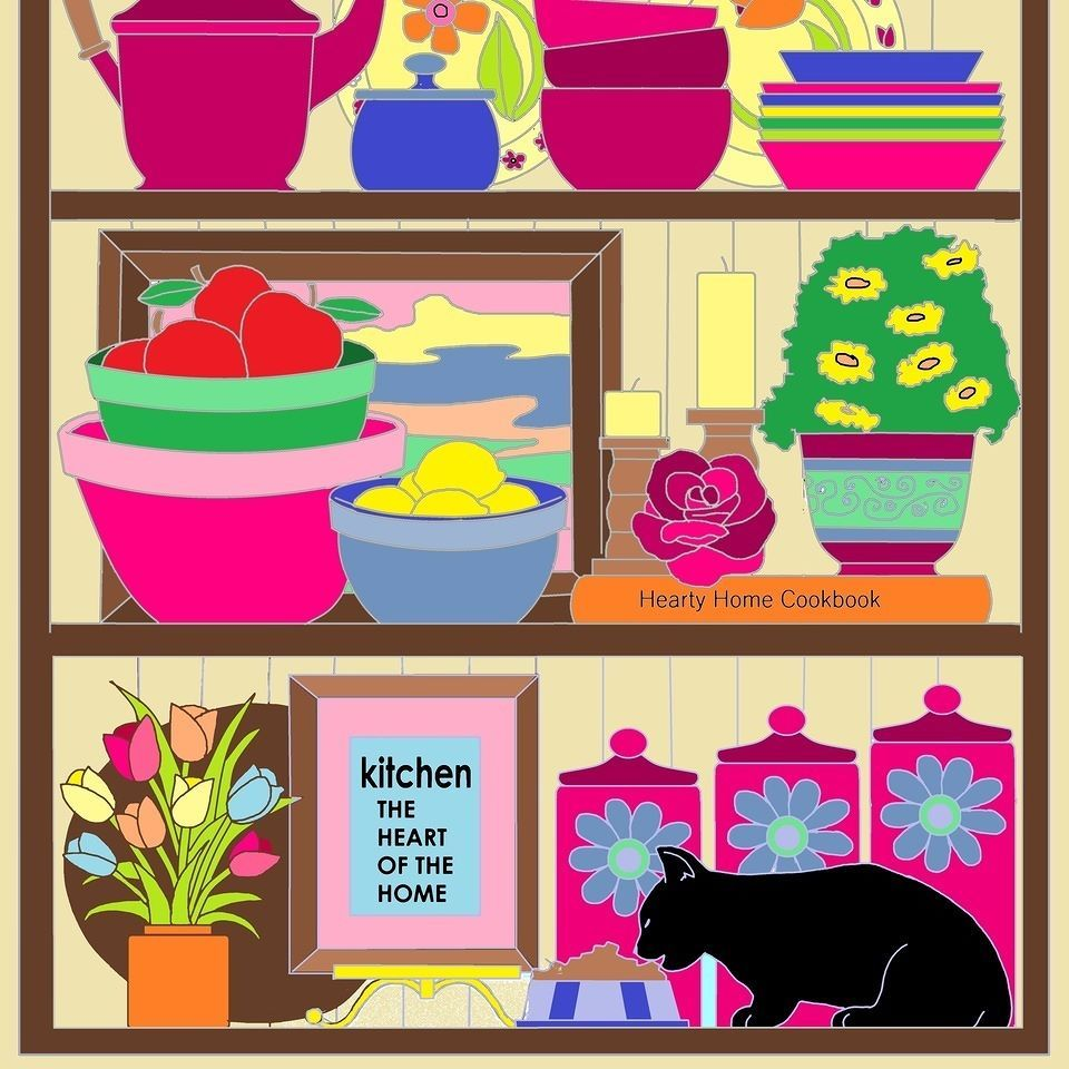 I Enjoyed Coloring This Page From My Book Home Sweet Kitty