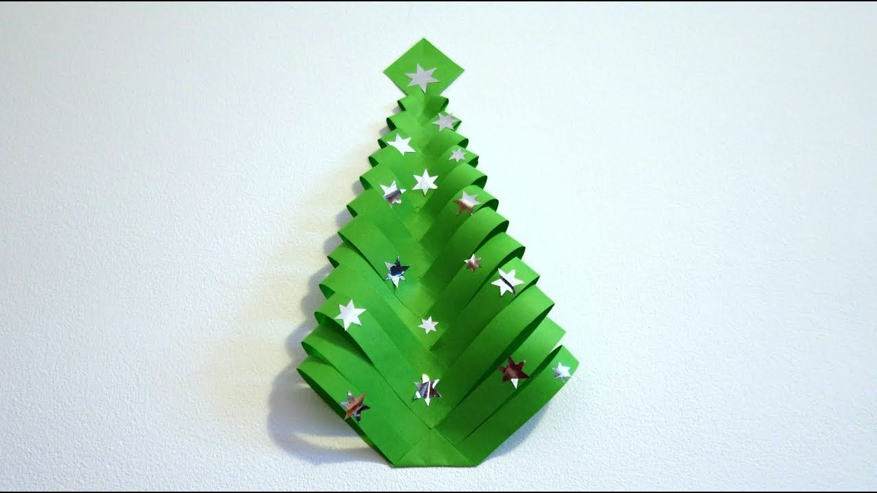 Diy Christmas Decorations Very Easy Paper Christmas Tree Maison Zizou Christmas Decor Diy Paper Christmas Tree Christmas Decorations