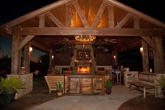 Texas Outdoor Kitchens Outdoor Living Room And Fireplace Katy Tx Outdoor Kitchen Bbq Gazebo Outdoor Living Room